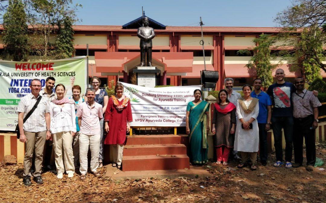 Auf Studienreise in Kerala, Südindien