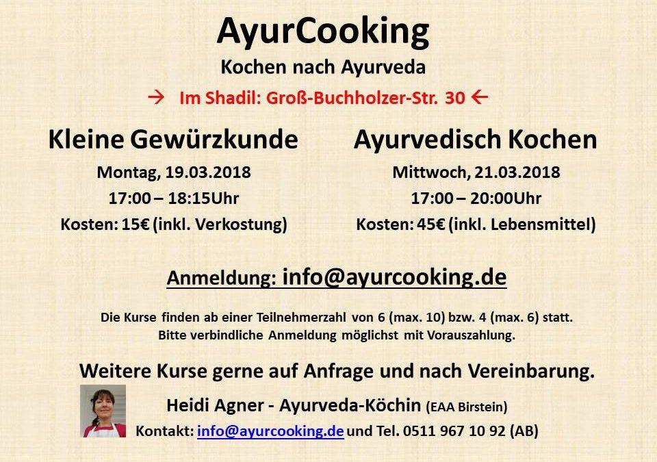 Ayurvedische Kochkurse in Hannover