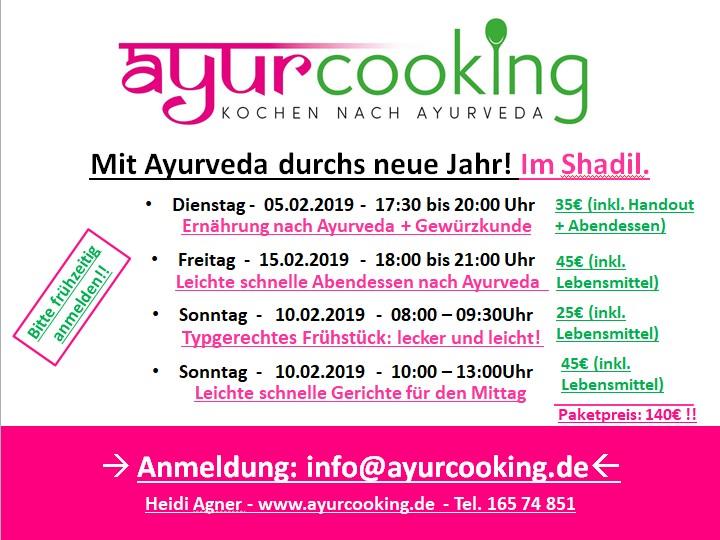 Ayurvedische Kochkurse – neue Termine in Hannover
